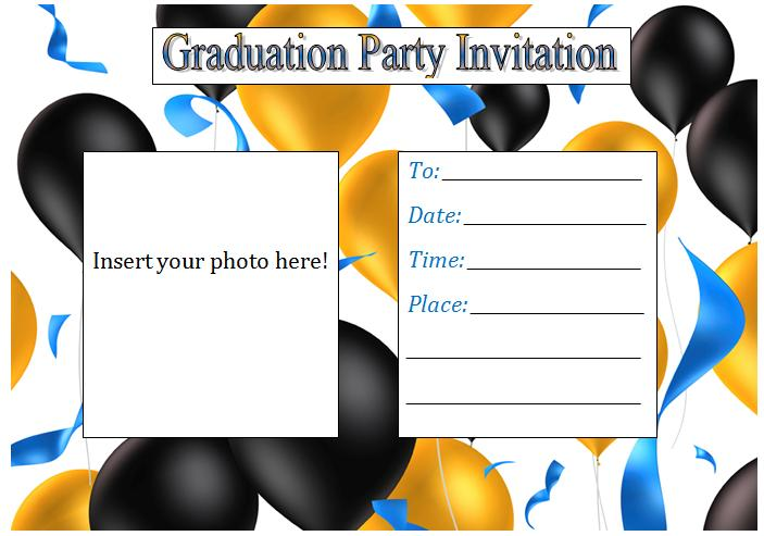 free printable graduation invitation templates 2013, Invitation templates