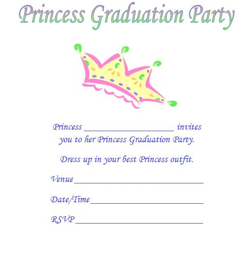 Free Printable Graduation Invitations For Kids 2017