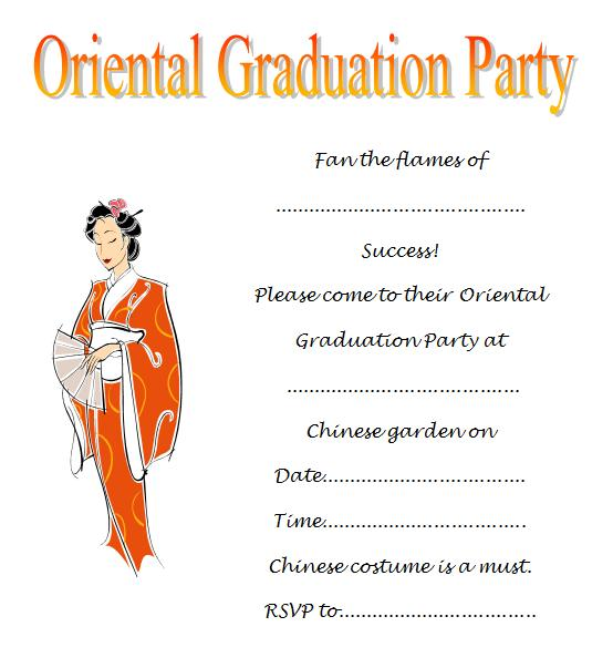 Free Printable Graduation Invitations For Kids 2019
