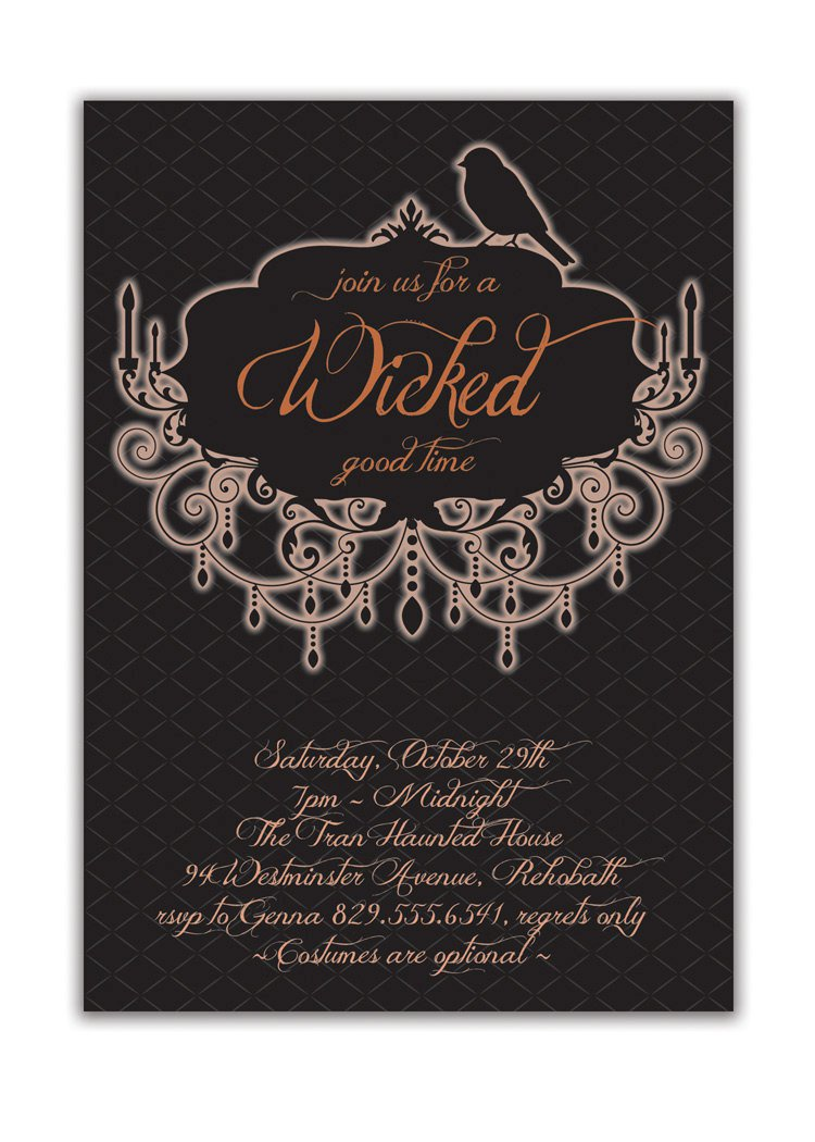 Free Printable Halloween Party Invitations For Adults