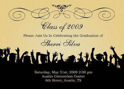 Free Printable High School Graduation Invitations 2011 2017