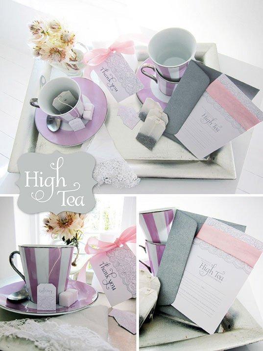 Free Printable High Tea Party Invitations 2017