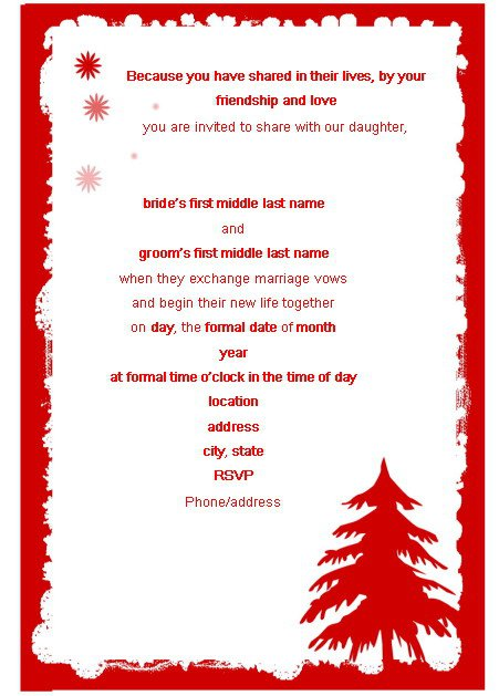 Free Printable Holiday Invitations 2018