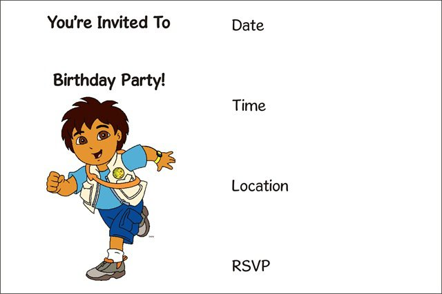 Free Online Printable Birthday Cards gangcraftnet – How to Make a Birthday Invitation Online for Free