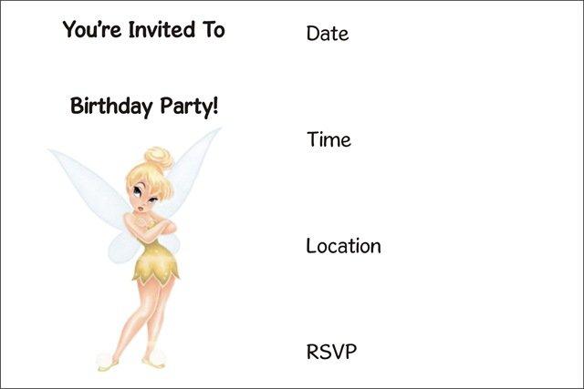Free Printable Invitation Birthday Cards For Girls 2016