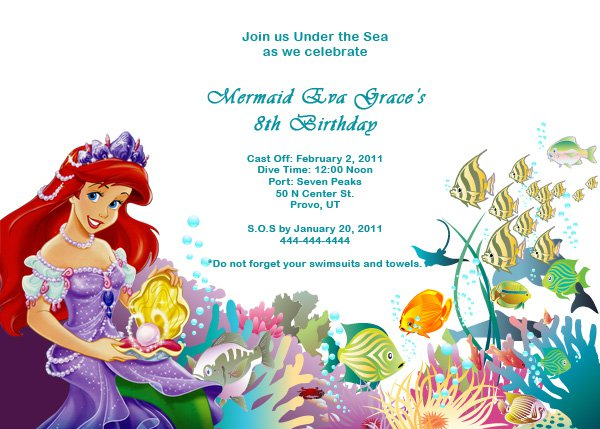 Free Printable Invitation Birthday Cards For Girls 2017