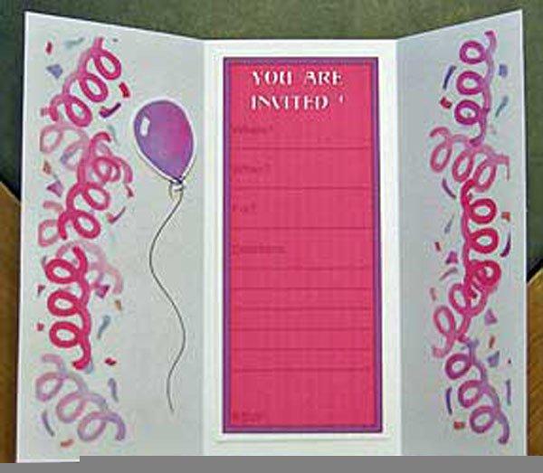 Free Printable Invitation Birthday Cards For Girls 2018