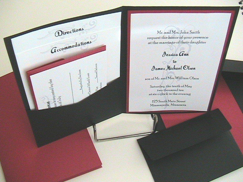Free Printable Invitation Kits Wedding