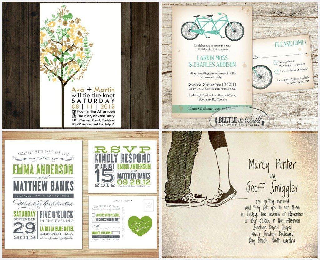 Free Printable Invitation Wedding Cards