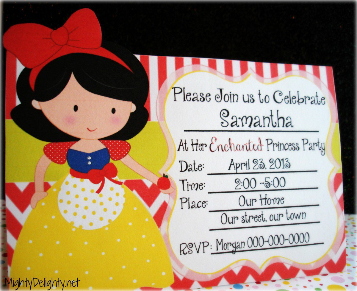 Free Printable Kids Party Invitations 2016