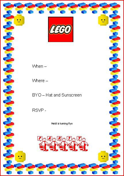 Free Printable Lego Ninjago Party Invitations – Ninjago Party Invitations