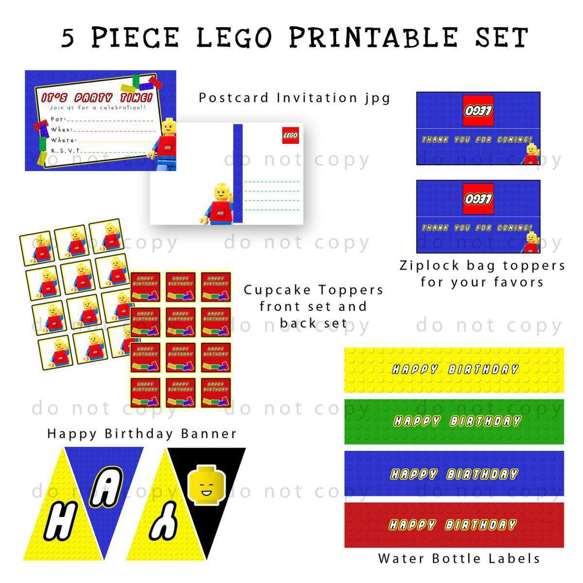 Free Printable Lego Star Wars Invitations