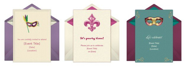 Free Printable Mardi Gras Party Invitations 2018