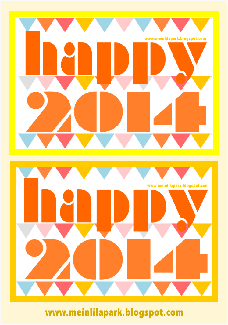 Free Printable New Year&