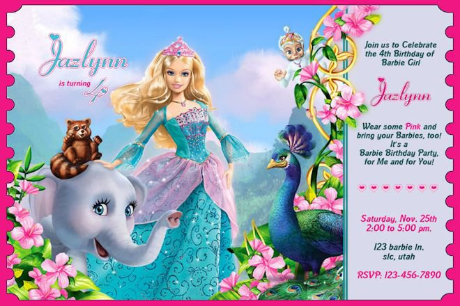 Free Printable Princess Birthday Invitation Templates 2015