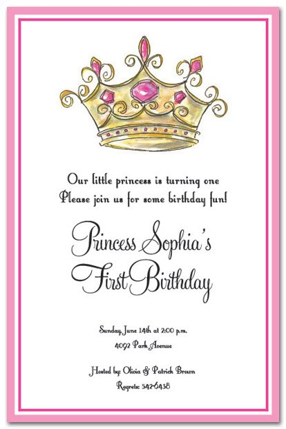 Free Printable Princess Birthday Invitations For Girls 2017