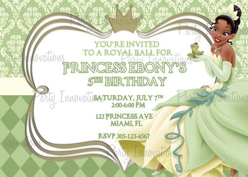 Free Printable Princess Invitations Birthday 2016