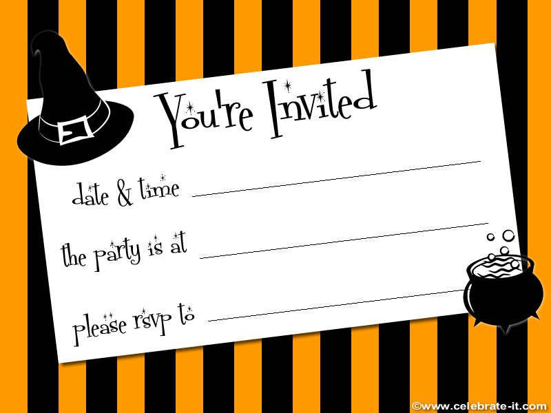 Free Printable Slumber Party Invitation Cards 2015