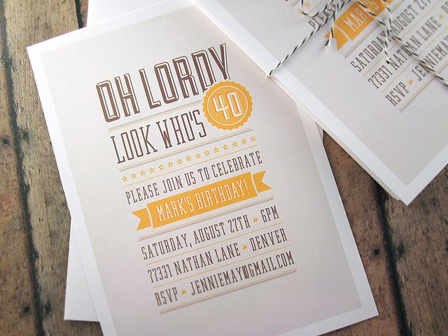 Free Printable Surprise 40th Birthday Invitations 2015