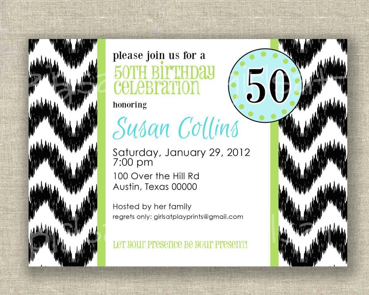 Free Printable Surprise 50th Birthday Invitations 2015