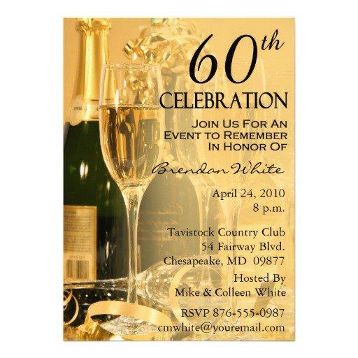 Printable Surprise 60th Birthday Invitations