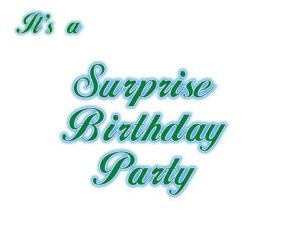 Free Printable Surprise Birthday Party Invitations Templates 2015