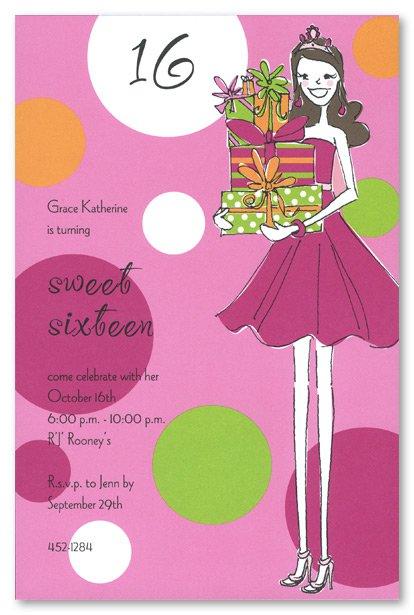 Free Printable Sweet 16 Invitation Templates 2015