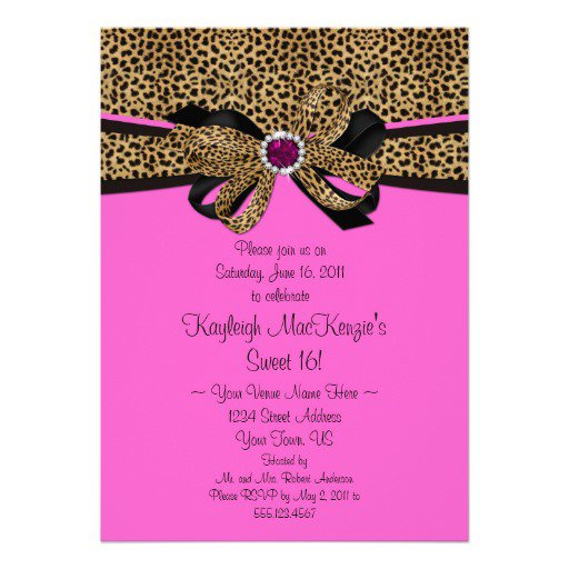 Free Printable Sweet 16 Invitations 2015