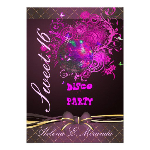 Free Printable Sweet 16 Invitations 2018