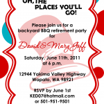 Free Printable Teacher Retirement Party Invitations