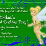 Free Printable Tinkerbell Birthday Invitations 2016