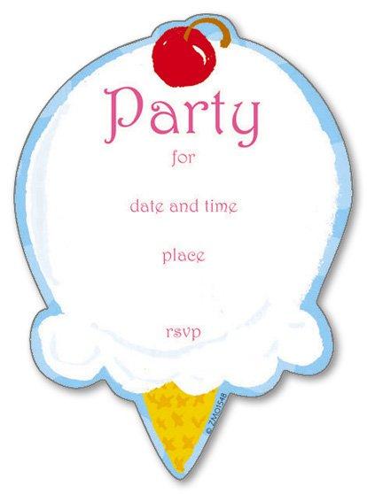 Free Printable Tween Girl Birthday Invitations