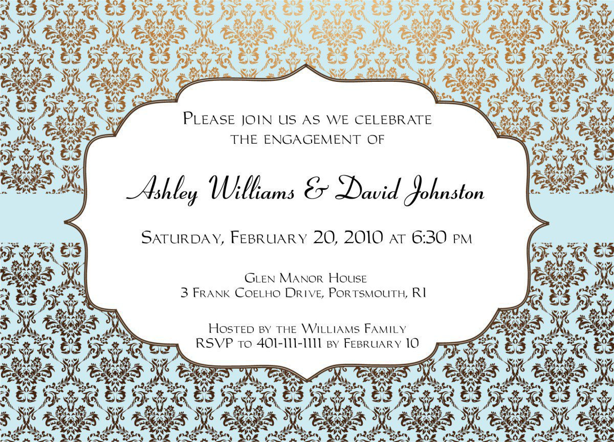 Free Printable Wedding Invitation Designs 2016
