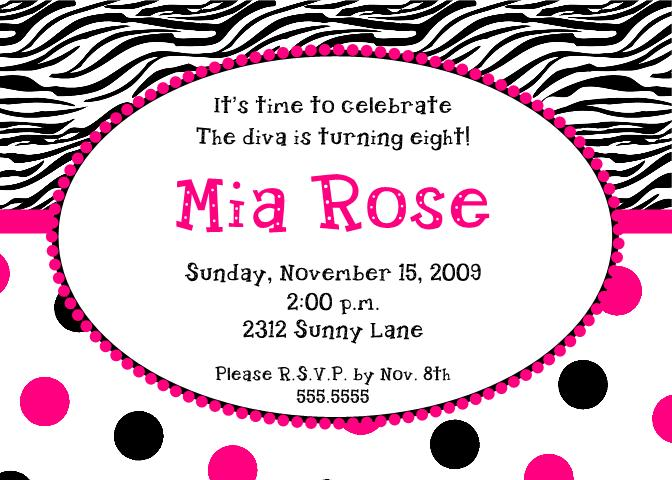 Free Printable Zebra Invitations For Birthdays 2017