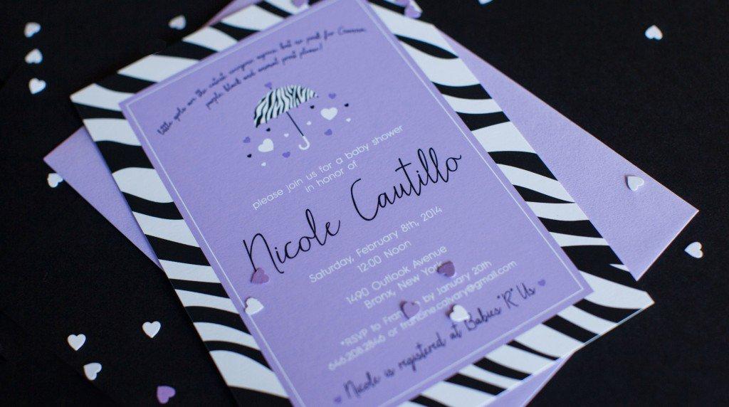 Free Printable Zebra Invitations For Birthdays