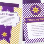 Free Tangled Printable Birthday Invitations 2018