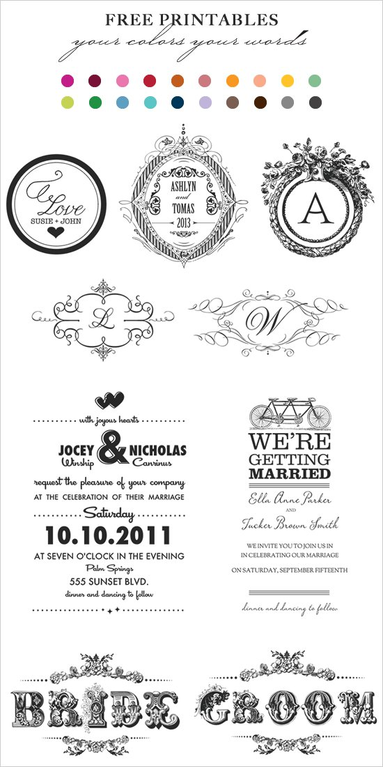 Free Wedding Invitation Templates Martha Stewart 2018