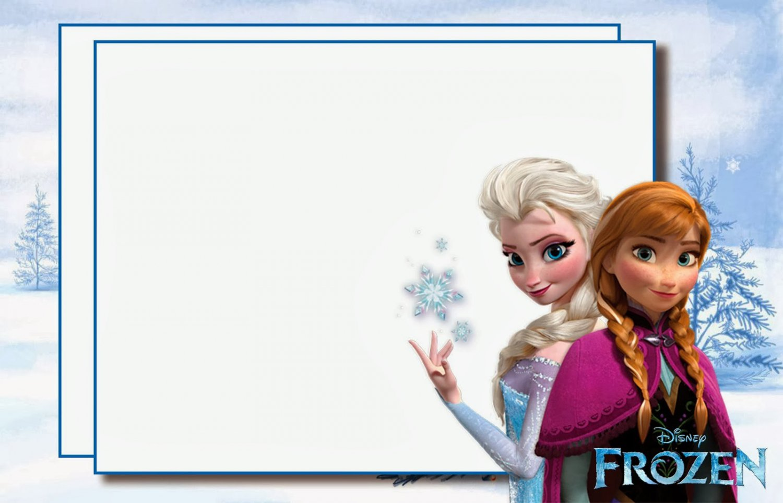 Frozen Birthday Party Invitations Printable Free