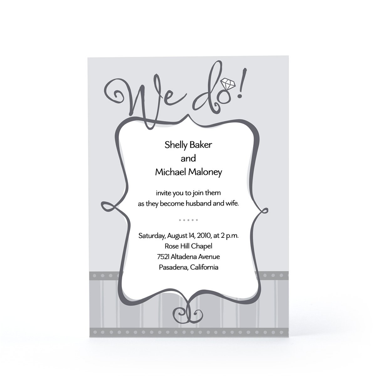 Hallmark Printable Wedding Invitations