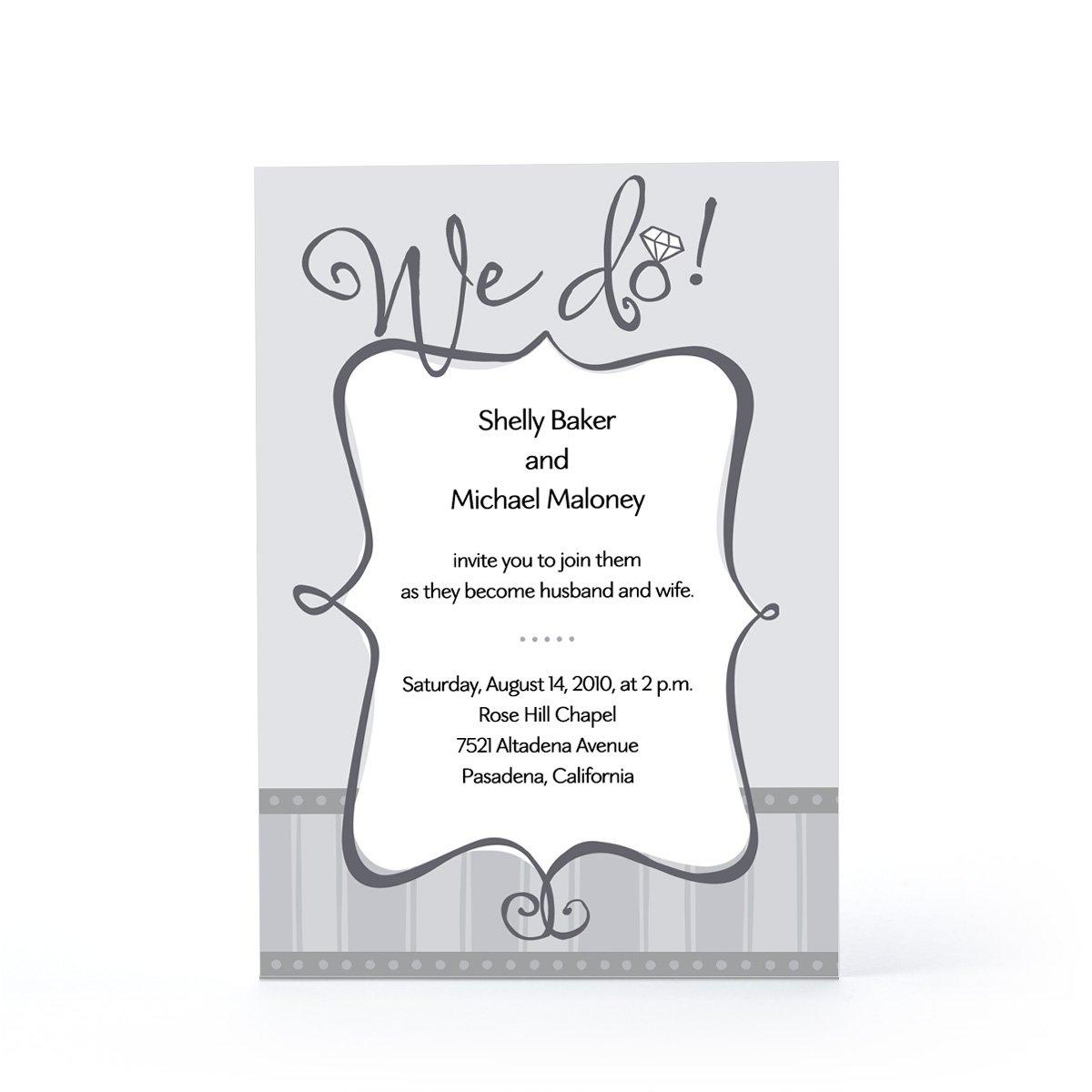 Hallmark Printable Wedding Invitations