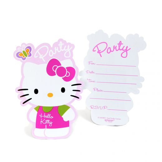Hello Kitty Invitations Printable 2015