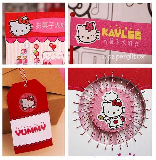 Hello Kitty Printable Birthday Invitations Free 2018