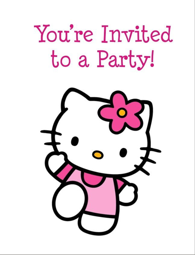 Invitations Printable Free Girls 2015