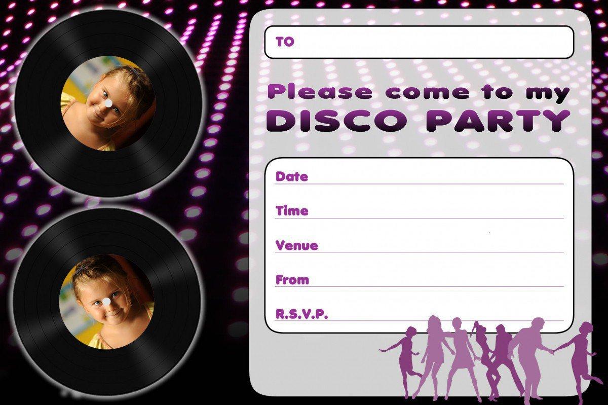 Kids Invitations Printable Free
