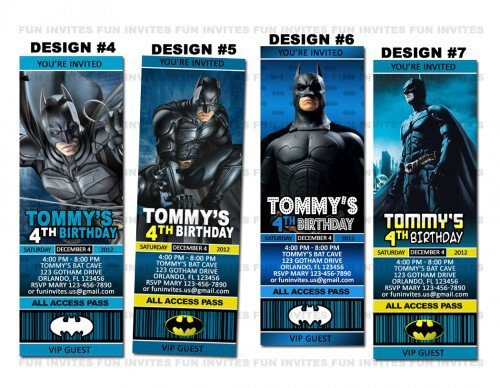 Lego Batman Party Invitations Printable 2015