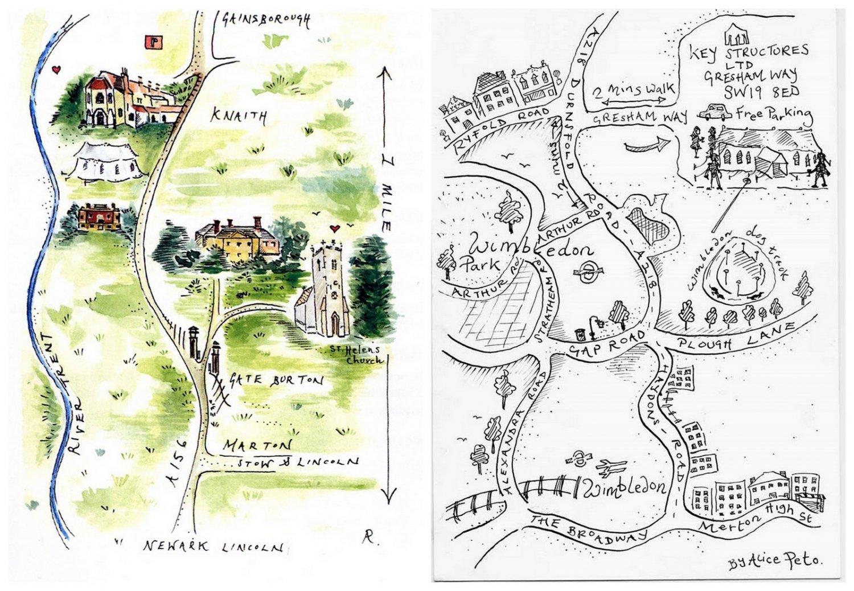 Map For Wedding Invitation Free Uk