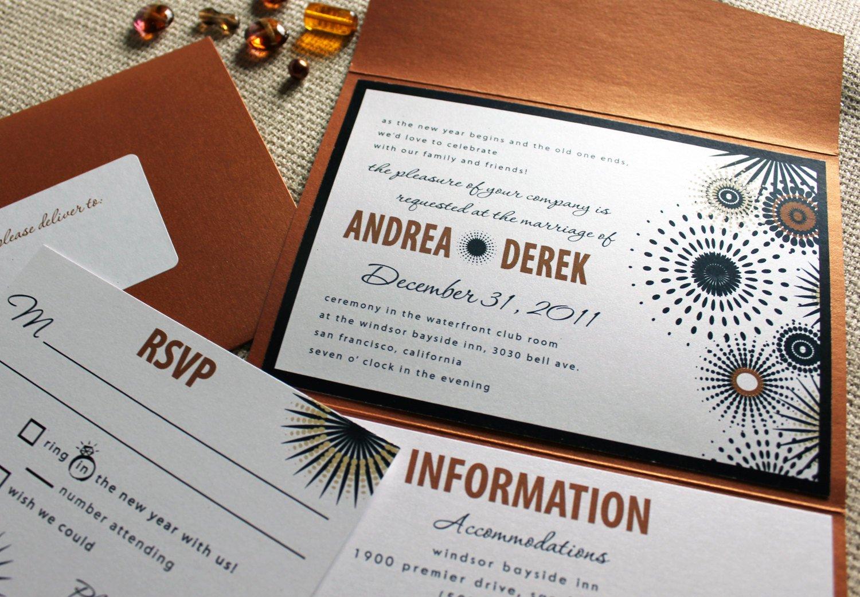 New Years Eve Invitation Wording Byob
