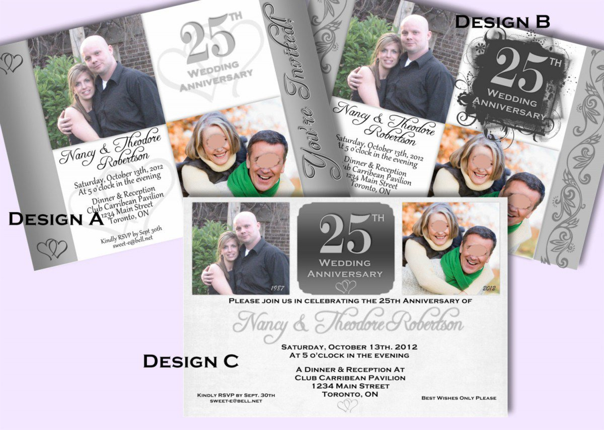 Printable 40th Anniversary Invitations 2017