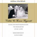 Printable 50th Wedding Anniversary Party Invitations