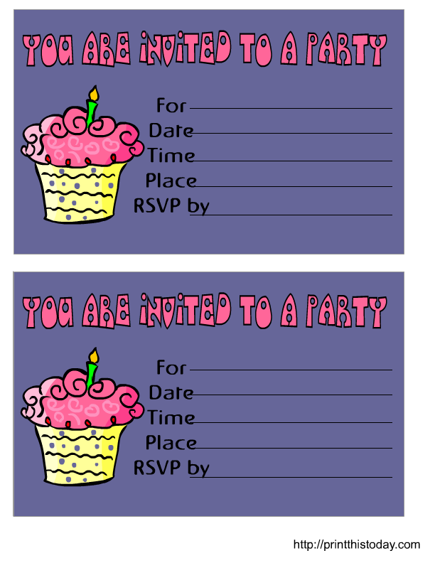 Printable 60th Birthday Invitation Templates
